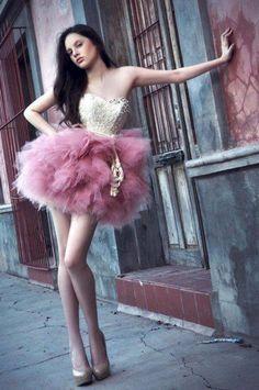 Piękna!  Amazing! <3 #originalource #raspberry #dress