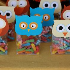 Owl food... Favors