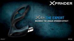 Für alle Xperten: Mit dem X4+ eröffnen sich völlig neue Dimensionen der Prostata-Stimulation. Durch die moderne Vibrations-Bullet kann die Wirkung des X4+ problemlos maximiert werden. Sein typisches XPANDER-Design verschmilzt mit der neuesten Vibrationstechnologie zu einem überwältigendem XPANDER+-Effekt. #XPANDER #XPANDEReffect