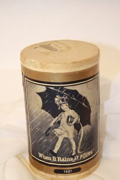 Vintage Morton Salt Container via Etsy
