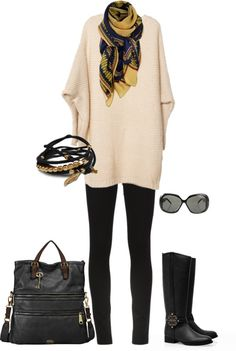 """fall comfy"" by lisa-matarasso-house on Polyvore"