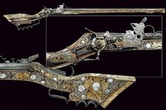 A beautiful tschinke, Italy, 17th century.