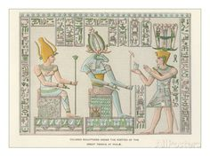Bas Relief at Philae Prints - AllPosters.ca