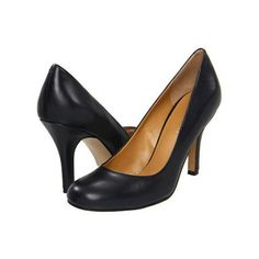 Nine West Ambitious High Heels - Navy Leather