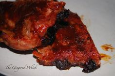 Cherry Cola Ribs by The Gingered Whisk