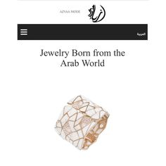 Thank you @azyaamode and @jojude3 #nuunjewels #paris #riyadh #proudsaudi #ilovemyjob #Diamonds #Howlite