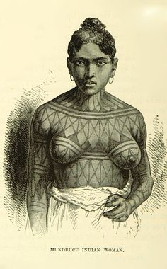 Image taken from page 306 of [The Peoples of the World: being a popular description of the characteristics condition and customs of the human family Illustrated. (A new much enlarged edition of The Races of Mankind. We Are The World, People Of The World, Ancient Tattoo, Western Tattoos, Xingu, Maori Designs, Indigenous Tribes, Asian Tattoos, African Tribes