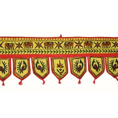 Home decoration, door hangings, Indian vintage style, tribal look.