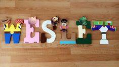 Half Birthday, Toy Story Birthday, Birthday Board, Birthday Ideas, Letter A Crafts, Letter Art, Disney Diy, Toy Story Room, Disney Letters