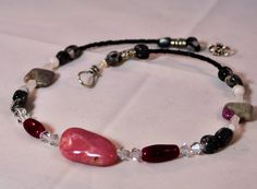 Blessings Amulet Peruvian Pink Opal Focal by TimelessTalismans, $45.00