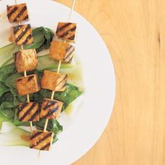 Grilled Tofu Kabobs with Spicy Marinade | Williams-Sonoma