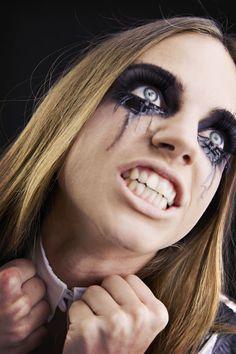 4 trucchi di Halloween per make up da strega e da vampira facili e veloci, da…
