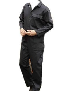 Workplace Safety Supplies Men Working Cow Leather Coverall Flame Resistant Leather Welding Clothes With Pocket For Men/women For Woodwork Nl003 Security & Protection