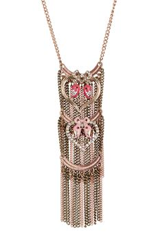 Bird Heart Pendant Necklace by Betsey Johnson on @nordstrom_rack