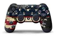 PS4 Controller Designer Skin for Sony PlayStation 4 DualShock Wireless Controller - Battle Torn Stripes, http://www.amazon.com/dp/B00GWX80XS/ref=cm_sw_r_pi_awdm_6rlFub1V7CE23