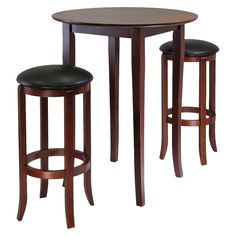 high top bar table\'s set | Entertainment & Bar | Pinterest | Bar ...