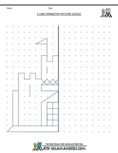 Symmetry worksheets and activities. #teachingkidsmath