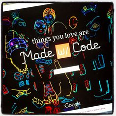 "The Library Voice: ""Made With Code"".....What A Beautiful Place From Google For Our Young People To Learn How To Code"