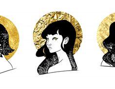 "Check out new work on my @Behance portfolio: ""Golden Girls"" http://be.net/gallery/51102747/Golden-Girls"
