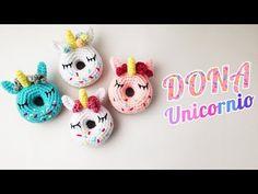 Unicorn Donut Amigurumi – Minasscraft Patrones Amigurumis