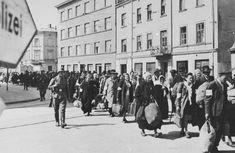 Déportation des juifs de Cracovie lors de la liquidation du Ghetto