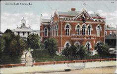 Catholic convent and school, Lake Charles, LA