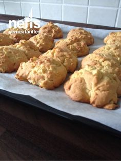 Apple Biscuits (Different And Delicious) - Yummy Recipes - Dinner Recipe Food Articles, Food Words, Doritos, Homemade Beauty Products, Different Recipes, Cupcake Cookies, Cookie Recipes, Biscuits, Cheesecake