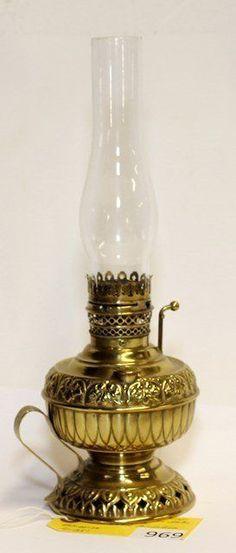 Pirinç Gaz Lambası. Antique Oil LampsVintage LampsVintage ...