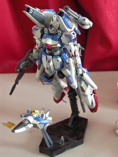 MG 1/100 V Dash Gundam Custom Build - Gundam Kits Collection News and Reviews