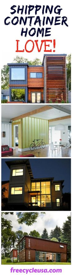 We Love Shipping Container Homes! #containerhome #shippingcontainer