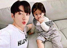 image sur We Heart It Jungkook Fanart, Foto Jungkook, Jungkook Cute, Cute Asian Babies, Korean Babies, Asian Kids, Jikook, Bts Girl, Ulzzang Kids