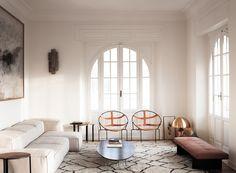 Appartement raffiné à Rome par Quincoces-Dragò & Partners studio