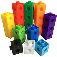 Geçmeli Birim Küpler (Snap Cubes- Akıllı Küp)