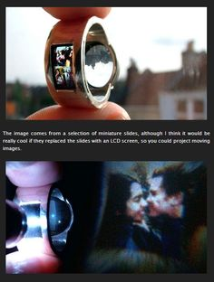 Ring Projector: Cool Wedding Ring