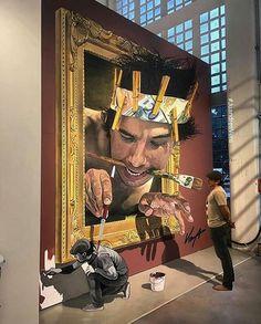 Dresden, Germania: nuovo pezzo dello street artist Juandres Vera. LINK UTILI: Juandres Vera su questo blog | Website | Facebook fan page ————————&#82…