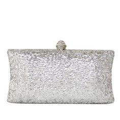 Handbags - $29.99 - Shining Metal With Glitter/Rhinestone Clutches (012050784) http://jjshouse.com/Shining-Metal-With-Glitter-Rhinestone-Clutches-012050784-g50784?pos=best_selling_items_133