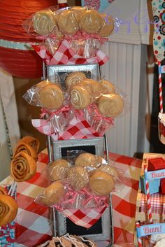 """Photo 14 of 29: Bun in the Oven/Retro / Baby Shower/Sip & See """"Bun in the Oven Baby Shower"""" 
