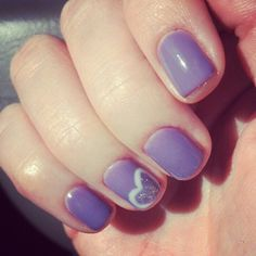 My Valentines nails