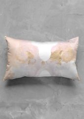 blossom: What a beautiful product! ACCENT PILLOW - LUSTER OBLONG peach gold by Lolo