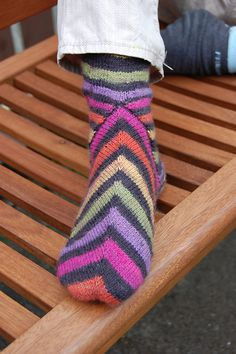 Ravelry: Lakritz Socks pattern by Corinne Fourcade