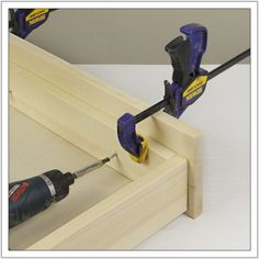 """The word """"drawer"""" followed by dados and dovetails is surly enough to scare off many a DIYer. Nonetheless, there's an easier way to build a drawer without using a table saw or router, yet res..."""