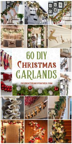 Diy Christmas Garland, Christmas Mantels, Diy Christmas Gifts, Rustic Christmas, Holiday Crafts, Christmas Holidays, Christmas Decorations, Christmas Vacation, Christmas Island
