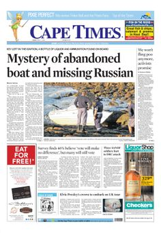 News making headlines: Mystery of abandoned boat and missing Russians