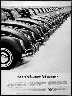vintage everyday: Cool & Sweet Vintage Volkswagen Ads #volkswagen