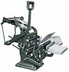 Hohner HOBO II [source: Bargilliat Fund] Letterpress Machine, Letterpress Printing, Ex Machina, Printing Press, Tabletop, Places, Prints, Type, Impressionism