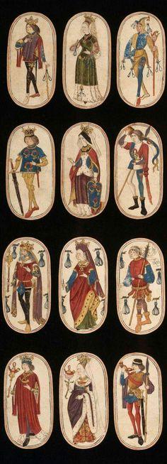 Carte da gioco  1470-1485 Paesi bassi  Metropolitan Museum