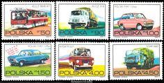 .... Postage Stamps, Transportation, Classic Cars, Automobile, Vehicle, Seals, Poland, Door Bells, Historia