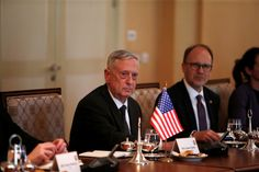 ISIS trapped in Iraq-Syria military vise, Secretary Mattis says #U_S_A_ #iNewsPhoto