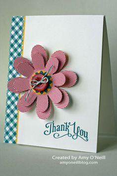 Flower Folds Card