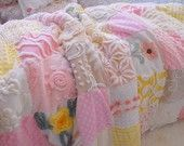 Handmade Quilts- vintage chenille